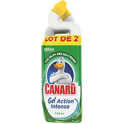 CAN GELS ACTION INT FRESH 750ML X2