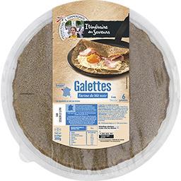 Galettes, farine de blé noir
