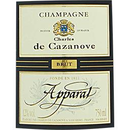 Champagne brut Apparat