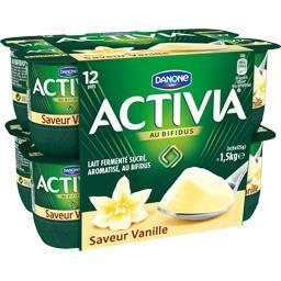Activia - Lait fermenté au bifidus saveur vanille