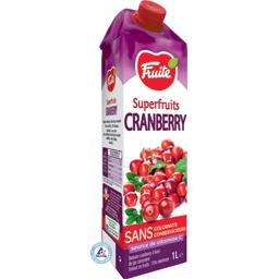 Jus de Cranberry Superfruits