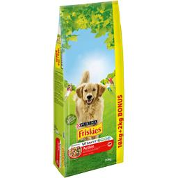 Friskies Life Plus Nutrition - Croquettes riche en viandes