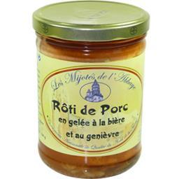 Les Mijotés De L'Abbaye Rôti de porc le bocal de 750 g
