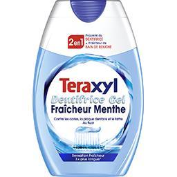 Teraxyl Dentifrice 2 en 1 fraîcheur menthe