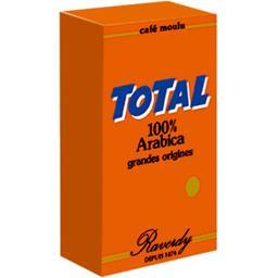 Café moulu Total 100% arabica