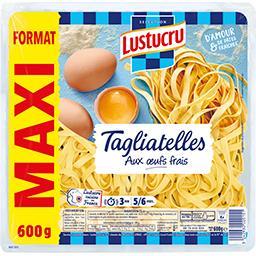 Tagliatelles aux œufs frais