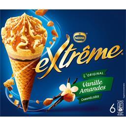 L'Original - Cônes vanille amandes caramélisées