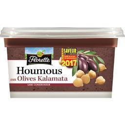 Florette Houmous aux olives Kalamata la barquette de 175 g