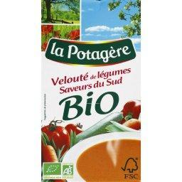 BIO - Potage, velouté de légumes, saveurs du sud