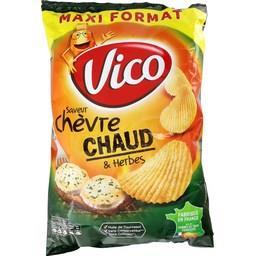 Chips saveur chèvre chaud & herbes