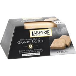 Labeyrie Bloc de foie gras de Grande Saveur Monbazillac fleur... le bloc de 260 g