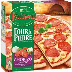 Buitoni Four à Pierre - Pizza chorizo oignons