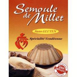 Semoule de Millet sans gluten,Sélectionné Par Votre Magasin,la boite de 400g
