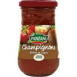 Sauce champignons tomates 100% fraîches