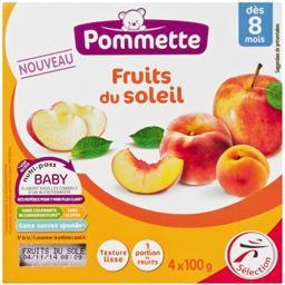 Dessert Fruits du Soleil, dès 8 mois