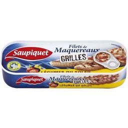 Filets de maquereaux grillés légumes du soleil