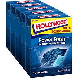 Chewing gum Power Fresh parfum menthe forte sans suc...
