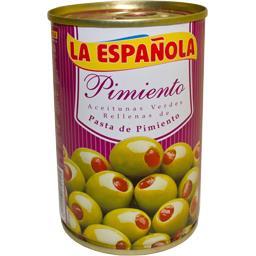 Olives vertes farcies poivrons