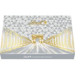 Lindt Champs-Elysées - Assortiment de chocolats Diamant au... la boite de 44 - 468 g
