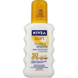 Sun - Spray protecteur Pure & Sensitive FPS 50
