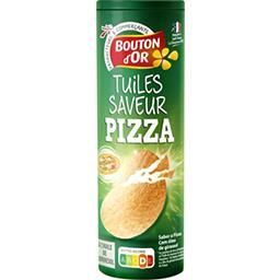 Bouton d'Or Tuiles saveur pizza la boite de 170 g