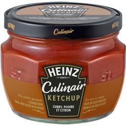 Culinair - Ketchup curry poivre et citron