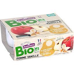 Purée de pomme vanille BIO, dès 4/6 mois
