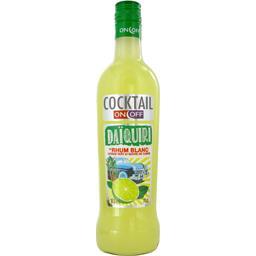 Cocktail Daïquiri rhum blanc citron vert et sucre de...