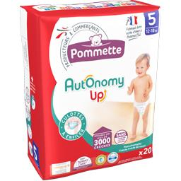 Couches culotte Autonomy Up, taille 5 : 12-18 kg