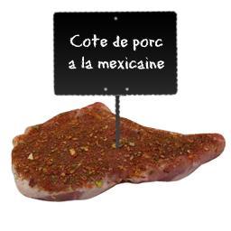 Côtes de PORC à la mexicaine