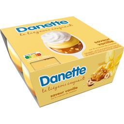 Danette - Dessert lacté Le Liégeois vanille lit cara...