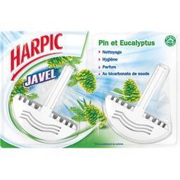 Bloc WC javel pin et eucalyptus