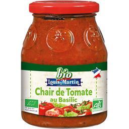 Chair de tomate au basilic BIO