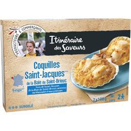 Coquilles St Jacques de la baie de St Brieuc