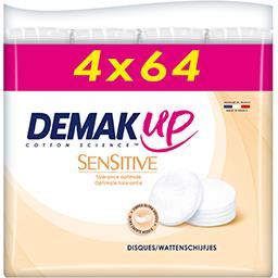 Demak'Up Disque de coton Sensitive