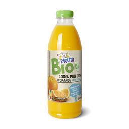 100% pur jus d'orange sans pulpe BIO