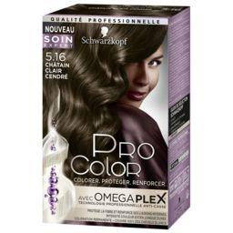 Pro Color - Coloration Châtain Clair Cendré 5.16