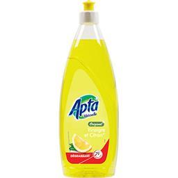 Liquide vaisselle, citron, le flacon,APTA,