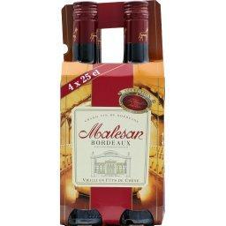 Malesan,  Bordeaux, vin rouge vieilli en fûts de chê...