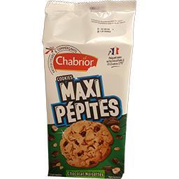 Chabrior Cookies Maxi pépites chocolat noisette le paquet de 8 - 184 g