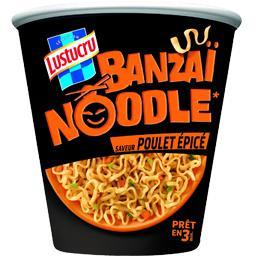Banzaï Noodle saveur poulet épicé