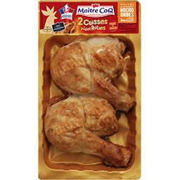 Cuisses de poulet rotis