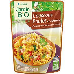 Couscous poulet et curcuma BIO