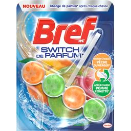 WC - Bloc WC Switch de Parfum pêche du verger/pomme ...