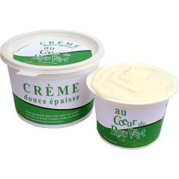 Crème fraîche douce épaisse