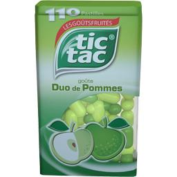 Tic tac duo pommes