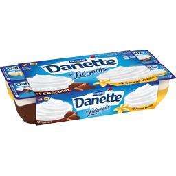 Danette - Dessert Le Liégeois chocolat & saveur vani...