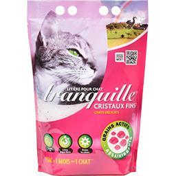 Litière pour chat Cristale super agglomérante