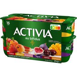 Danone Danone Activia - Lait fermenté aux fruits panachés