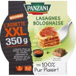 L'Assiette XXL - Lasagnes bolognaise